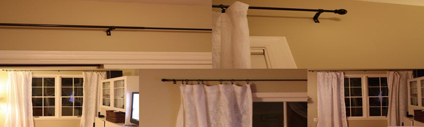 curtain rod installation Orlando