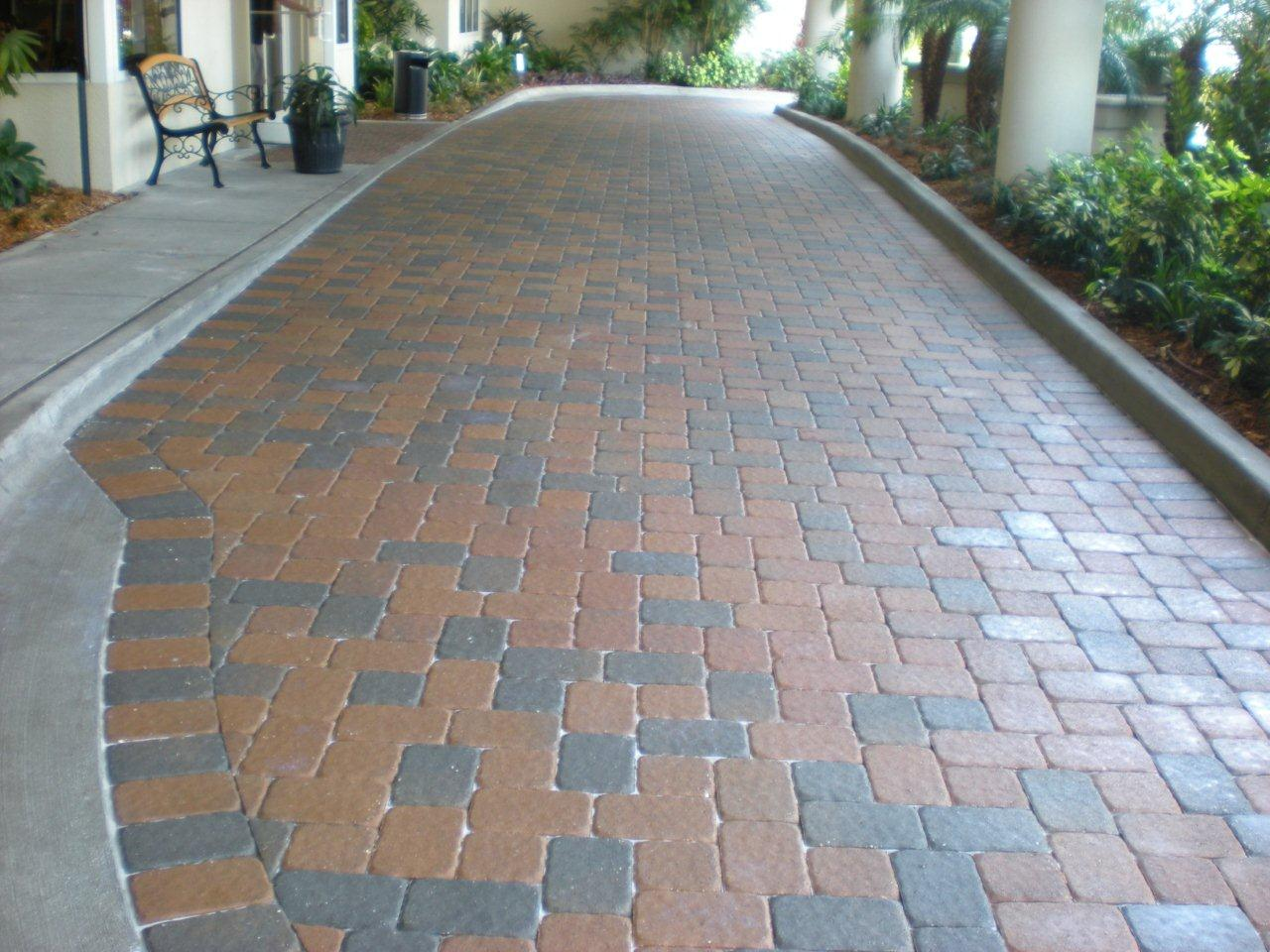 Water Based Paver Sealer Job Uncle Mike Quality Services
