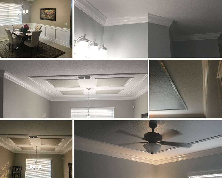 Crown Molding Examples Orlando Uncle Mike Quality Services